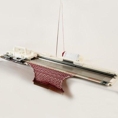 画像1: 太糸用パンチカード編み機 いとぼうちえ9 SK155
