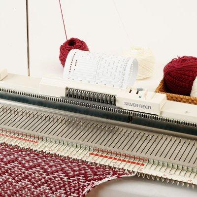 画像2: 太糸用パンチカード編み機 いとぼうちえ9 SK155